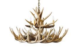 Antler Chandelier Craigslist L Lighting Authentic Looking Deer Antler Chandelier For Your