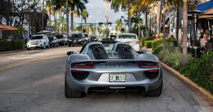 old porsche 918 this florida granny drives a porsche 918