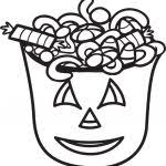halloween candy coloring pages toodler photos