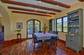 cer interior dining room mediterranean with hardwood floors san