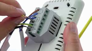 how to wire up the thermotouch 4 3ic thermostat 5240 youtube