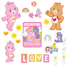 amazon brewster st99834 care bears wall stickers