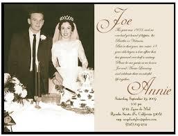 Card For Invites 50th Wedding Invites Vertabox Com
