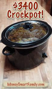 crockpot black friday sale using a crockpot for a year just twice a week could save you 3400