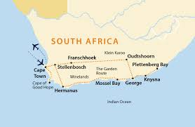 Map Of Cape Town South Africa by Cape Winelands U0026 The Garden Route Tour South Africa Jules Ver