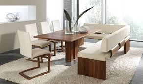 dining room bench with back dining tables with benches dining table innovative ideas table