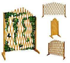 expanding trellis fencing trellis garden fence and planter is a soft lichen grey green the