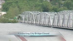 Table Rock Lake Flooding Lake Level Closes Kimberling City Bridge Ozarksfirst