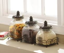 kitchen canisters glass 25 best glass canisters ideas on flour container big