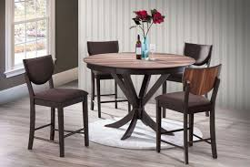 Dining Room Sets 4 Chairs by Turner Round Pub Table 4 Stools