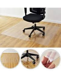 plastic floor cover for desk chair spring shopping special costway 47 x 59 pvc chair floor mat