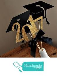 graduation centerpiece ships in 2 5 by confettimommaparty