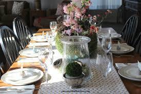 springtime tablescape pineapple hill interiors