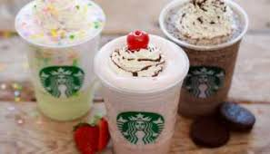 starbucks birthday cake frappuccino secret menu gemma s bigger