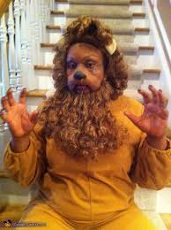 Cowardly Lion Costume The Wizard Of Oz Halloween Costume Ideas