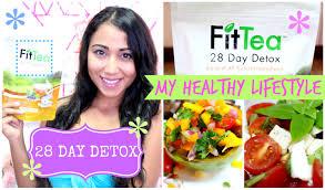 fit tea 28 day detox u0026 my healthy lifestyle youtube