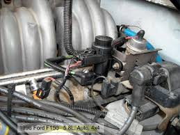 1995 ford f150 5 0 96 f150 5 8 high idle and i ve replaced everything help