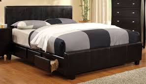 King Storage Bed Frame Burlington Espresso Cal King Storage Bed From Furniture Of