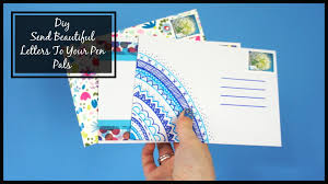 Letter Decoration Ideas by Diy Send A Beautiful Letter Envelope To Your Pen Pal Cara