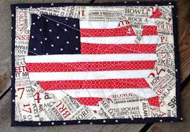 Mug Rug Kits Quilt Inspiration Free Pattern Day Patriotic And Flag Quilts