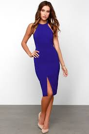 royal blue dress keepsake end of time royal blue dress midi dress 110 00