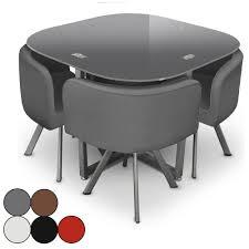 table avec chaise encastrable table pliante avec chaises encastrables 2017 et table en verre et