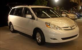 nissan sienna 2008 best used minivans