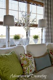 adventures in decorating 2015 spring great room
