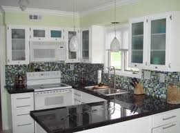 backsplash for black and white kitchen small black and white kitchen backsplash ideas black and white