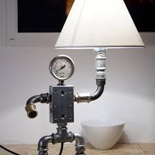 handmade steampunk retro plumbing art lamp zongo