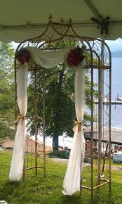 wedding arch gazebo best 25 metal wedding arch ideas on metallic wedding