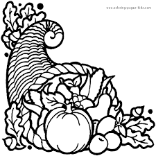 thanksgiving basket coloring pages u2013 happy thanksgiving