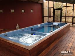 how zen would you feel in this endless pool swim spa plan your