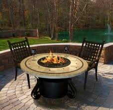 California Fire Pit by California Outdoor Concepts Solano Dining Fire Pit Table Fire