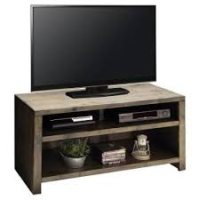 61 inch barnwood finish rustic tv stand joshua creek rc willey
