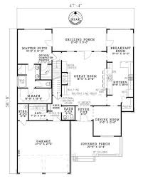 craftsman style floor plans craftsman style house plan 4 beds 3 baths 2470 sq ft plan 17