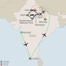 Jaipur India Map by Southern India U0026 Varanasi Tour Globus Asia