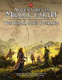 Map Middle Earth The Road Goes Ever On For Adventures In Middle Earth Cubicle 7