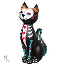 day of the dead decorations nemesis now sugar cat puss day of the dead decoration