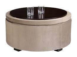 large round storage ottoman round storage ottoman tray large round ottoman tray editeestrela