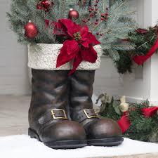 sweet christmas ornaments for xmas home decoration santa boots