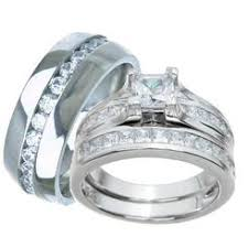 matching wedding bands his and hers his and hers wedding ring sets