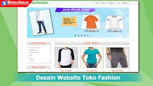 tutorial membuat web html sederhana cara membuat desain website toko fashion menggunakan bahasa html dan