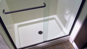 Bathroom Shower Pans Re Bath Of The Triad Shower Replacements In Greensboro Nc Re