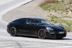 Porsche Panamera Hybrid - 2017 porsche panamera spied for the first time in hybrid guise