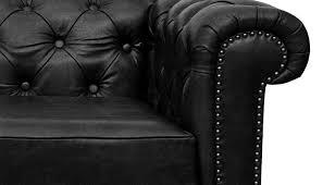 black chesterfield sofa russcarnahan com