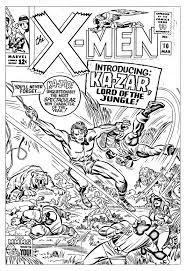 comics xmen 1965 unreleased cover books comics coloring