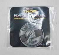 thor ragnarok opening night fan event thor ragnarok opening night fan event collectors coin m