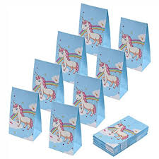 party favor bags aresmer unicorn paper bags party favor bags for kids