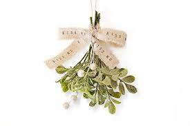 christmas mistletoe shabby chic christmas mistletoe glitter mistletoe